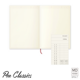 Midori MD Notebook Journal Frame Open