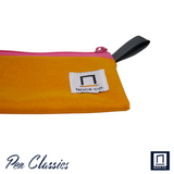 Nock Co Pencil Pouch Logo and Tag