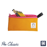 Nock Co Pencil Pouch Open with Pencils
