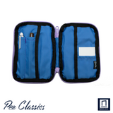 Nock Co Seed A6 Iris/Electric Blue - Purple/Blue Case Open