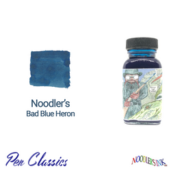 Noodler's Bad Blue Heron 3oz Ink Bottle