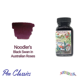 Noodler's Black Swan in Australian Roses 3oz Ink Bottle
