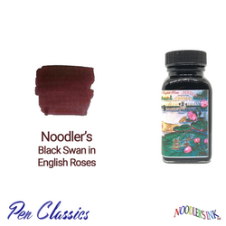 Noodler's Black Swan in English Roses 3oz Ink Bottle
