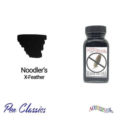 Noodler's X-Feather 3oz Ink Bottle