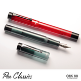Opus 88 Demonstrator Red and Grey Promotional Shot 2