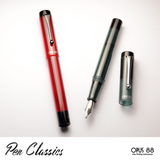 Opus 88 Demonstrator Red and Grey Promotional Shot 3