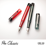 Opus 88 Demonstrator Red and Grey Promotional Shot 4