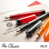 Opus 88 Demonstrator Red and Grey and Orange Promotional Shot 1