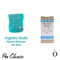 Organics Studio Alanine Shimmer Ink 55ml Box and Swab