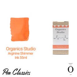 Organics Studio Arginine Shimmer Ink 55ml Box and Swab