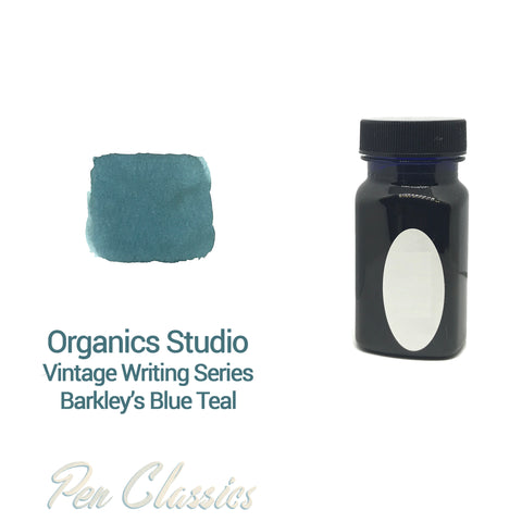 Organics Studio Vintage Series Barkley's Blue Teal 55ml Bottle