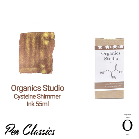 Organics Studio Cysteine Shimmer Ink 55ml Box and Swab