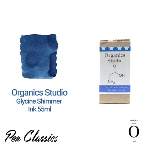 Organics Studio Glycine Shimmer Ink 55ml Box and Swab