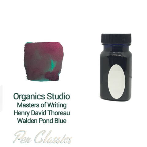 Organics Studio Henry David Thoreau Walden Pond Blue