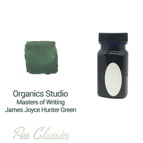 Organics Studio James Joyce Hunter Green