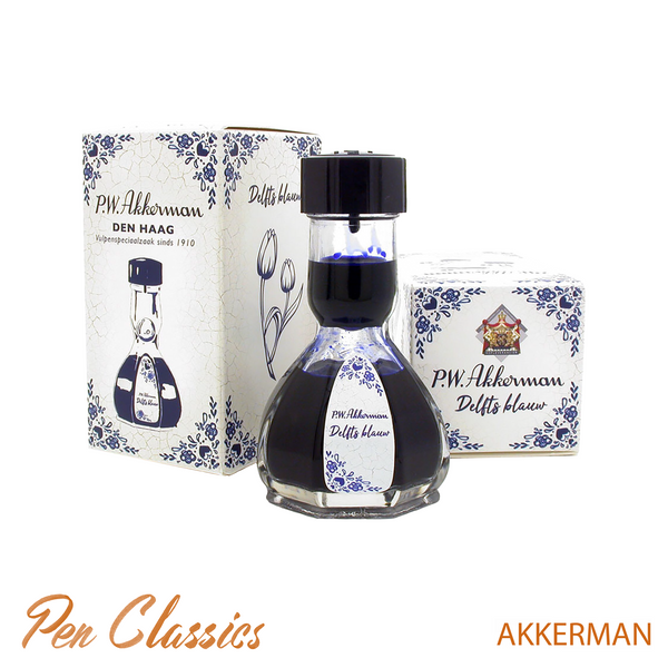 PW Akkerman Delfts Blauw_Blue Bottle and Box