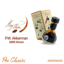 PW Akkerman SBRE Brown Bottle and Swab