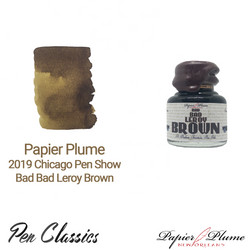 Papier Plume 2019 Chicago Pen Show Bad Bad Leroy Brown 30ml Bottle and Swab