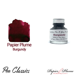 Papier Plume Burgundy 30ml Bottle and Swab