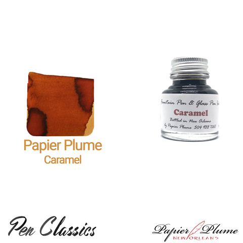 Papier Plume Caramel 30ml Bottle and Swab