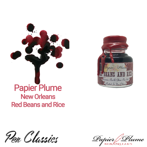 Papier Plume New Orleans Red Beans and Rice 30ml Bottle and Swab