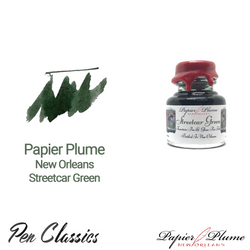 Papier Plume New Orleans Streetcar Green 30ml Bottle and Swab