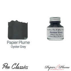 Papier Plume Oyster Grey 30ml Bottle and Swab