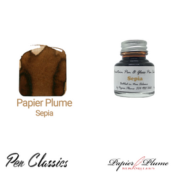 Papier Plume Sepia 30ml Bottle and Swab