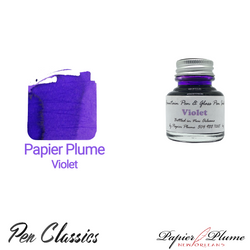 Papier Plume Violet 30ml Bottle and Swab