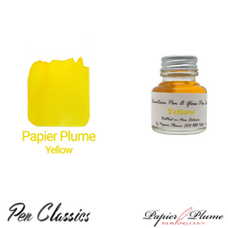 Papier Plume Yellow 30ml Bottle and Swab