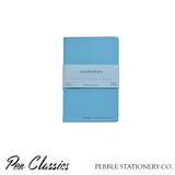 Pebble Stationery Co Glacier Pocket Notebook Front Cover