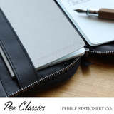 Pebble Stationery Co notebook in use 2