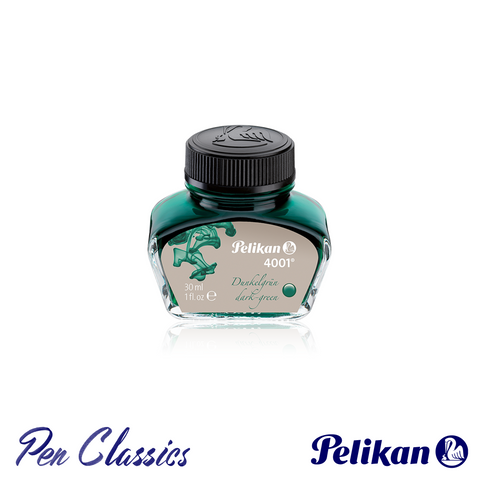 Pelikan 4001 Dark Green 30ml Ink Bottle