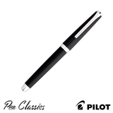 Pilot Falcon Black Metal Medium Cap On