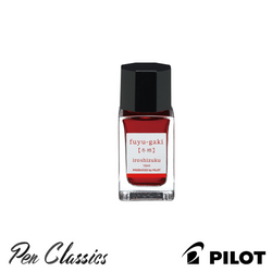 Pilot Iroshizuku Fuyu-Gaki Winter Persimmon 15ml Bottle
