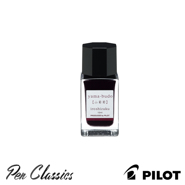 Pilot Iroshizuku Yama-Budo (Crimson Glory Vine) 15ml Bottle