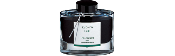 Pilot Iroshizuku Syo-Ro (Dew on Pine Tree) 50ml Bottle