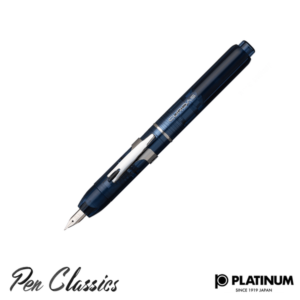 Platinum Curidas Abyss Blue Fountain Pen