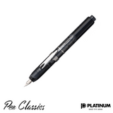 Platinum Graphite Smoke Nib Out