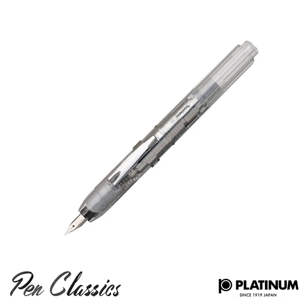 Platinum Prism Crystal Nib Out