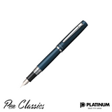 Platinum Procyon Deep Sea Fountain Pen Nib Posted