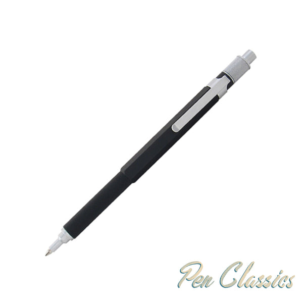 Retro 51 Hex-O-Matic Vintage Design Black Ballpoint Pen