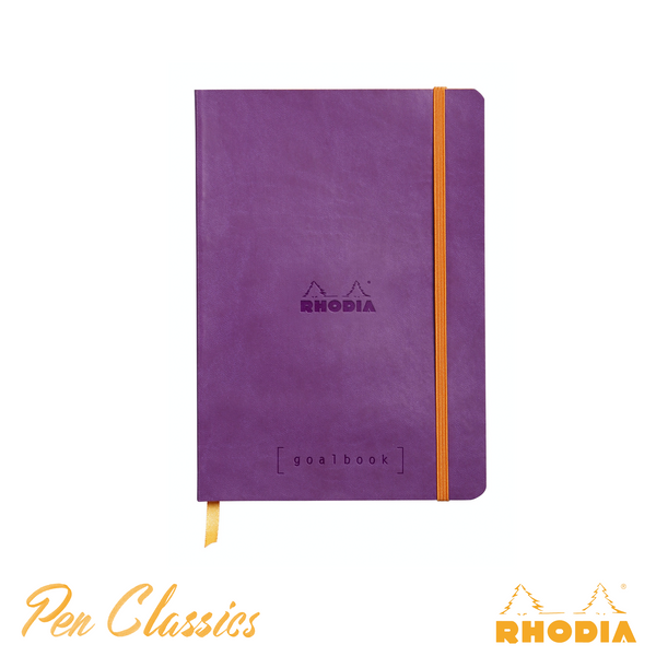 Rhodia Goalbook A5 Dot Grid Violet