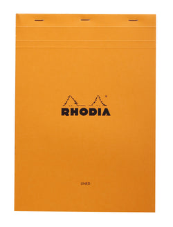 Rhodia Bloc Orange A4 – Lined and Margined