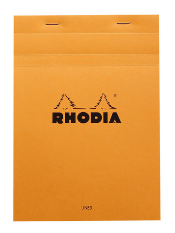 Rhodia Bloc Orange A5 – Lined and Margined