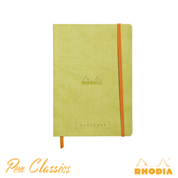 Rhodia Goalbook A5 Dot Grid Green