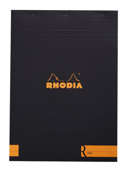 Rhodia R by Rhodia Black Cream Paper A4 Lined