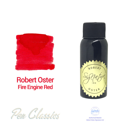 Robert Oster Fire Engine Red 50ml Bottle