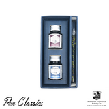 Rohrer & Klingner Gift Set Box Ink and Glass Dip Pen