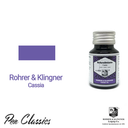 Rohrer & Klingner Cassia Ink Bottle and Swab